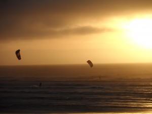 Kitesurfing Lancing